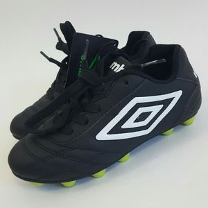 Umbro Kids Boys Girls Finale Soccer Cleats Black